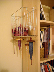 Spindle rack