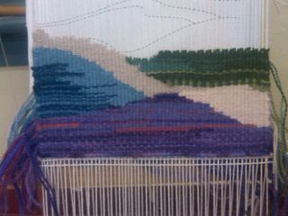 Hills tapestry